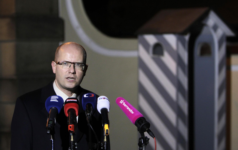 Bohuslav Sobotka, le Premier ministre tchèque
