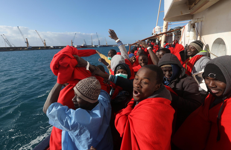 اکثر پناهجویانی که از آفریقا وارد اروپا میشوند، اهل نیجریه هستند