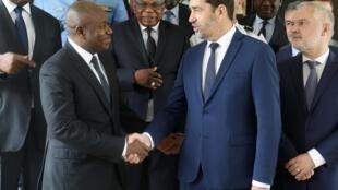 Le ministre de l'Intérieur Christophe Castaner a rencontré son homologue ivoirien Sidiki Diakité lundi 20 mai à Abidjan.