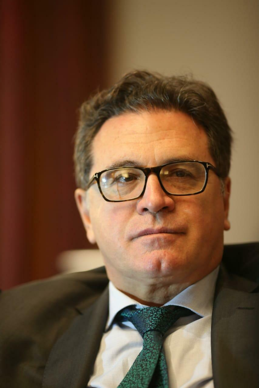 Ministro do Turismo, Vinicius Lummertz, em Buenos Aires.