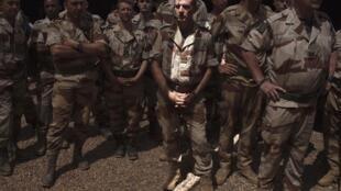 Des soldats français sur la base aérienne de Gao, en mars dernier.