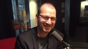 Portrait de l'écrivain québécois Eric Plamondon (avril 2019).