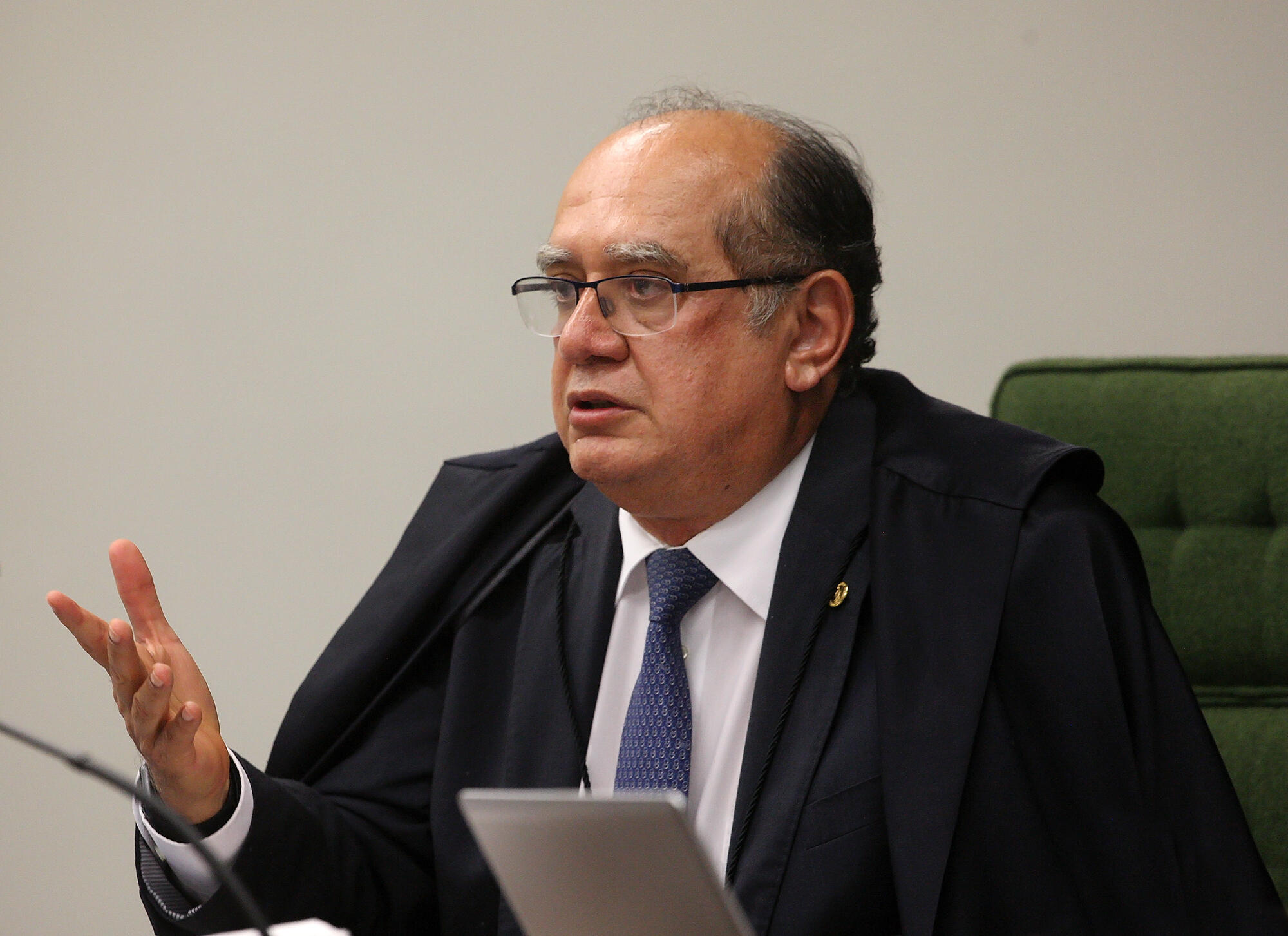 O ministro do Supremo Tribunal Federal, Gilmar Mendes