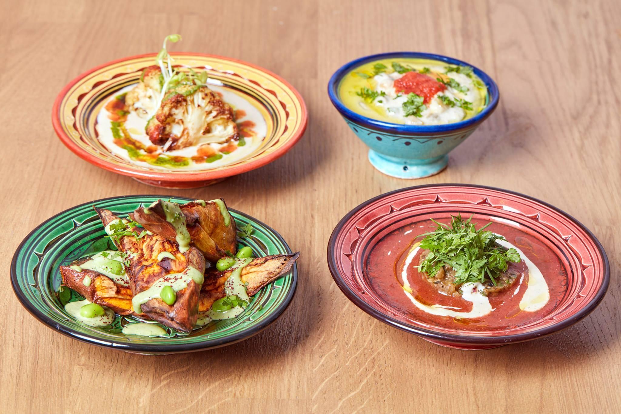 Из всего мира парижской израильской кухни Tavline — самый спокойный и самый уютный ресторан.