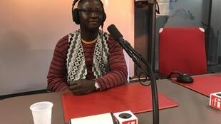Tchando na RFI a 4 de Outubro de 2018.