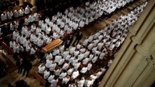 Funeral of Paul Bocuse  in Lyon