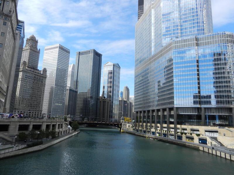 La skyline de Chicago.