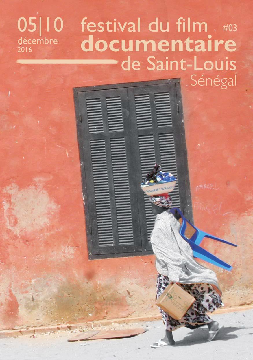 Détail de l'affiche du Festival du film documentaire de Saint-Louis Sénégal.