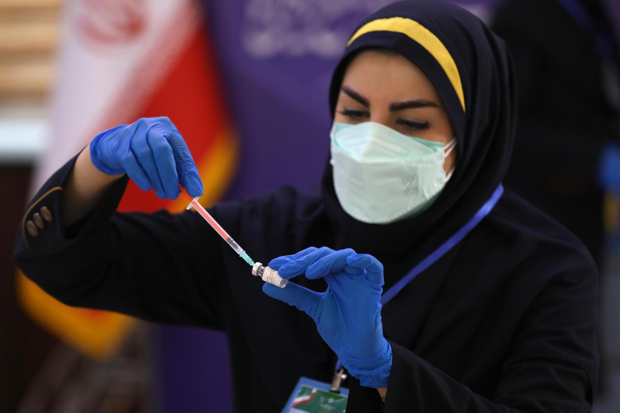 Covid - médecin - Iran - vaccin - Barekat