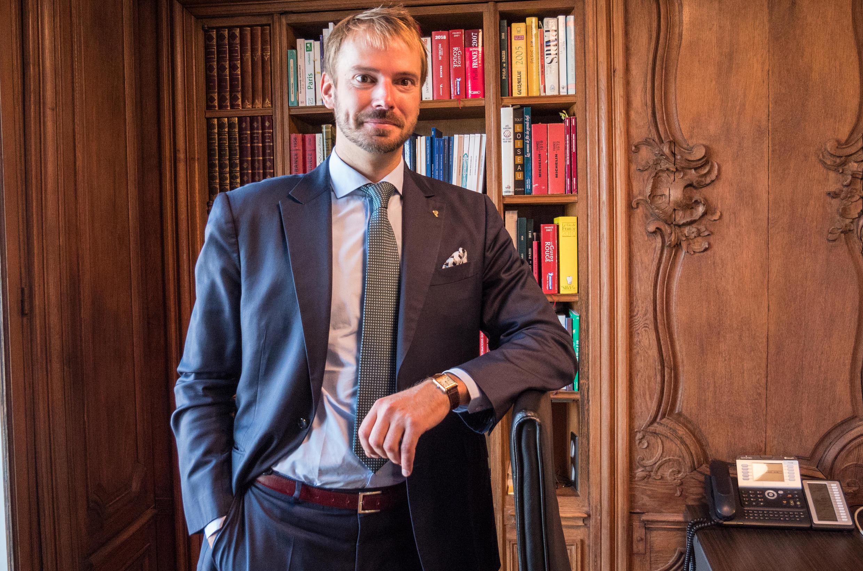André Terrail, propietario de la Tour d'Argent