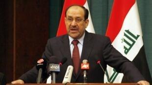 نوری المالکی نخست وزیر عراق