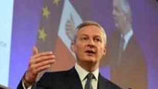 法国经济和财政部长勒梅尔(Bruno Le Maire)