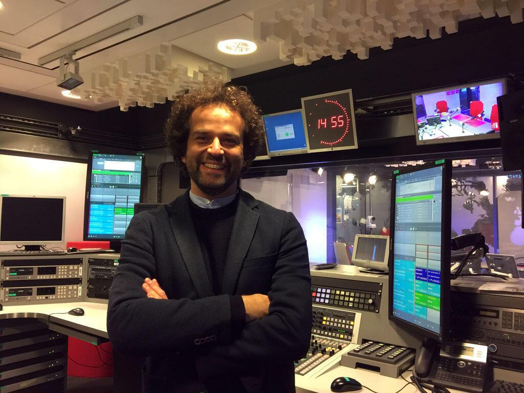 Saulo Neiva, professor de literatura da Universidade de Clermont Ferrand, no estúdio 51 da RFI