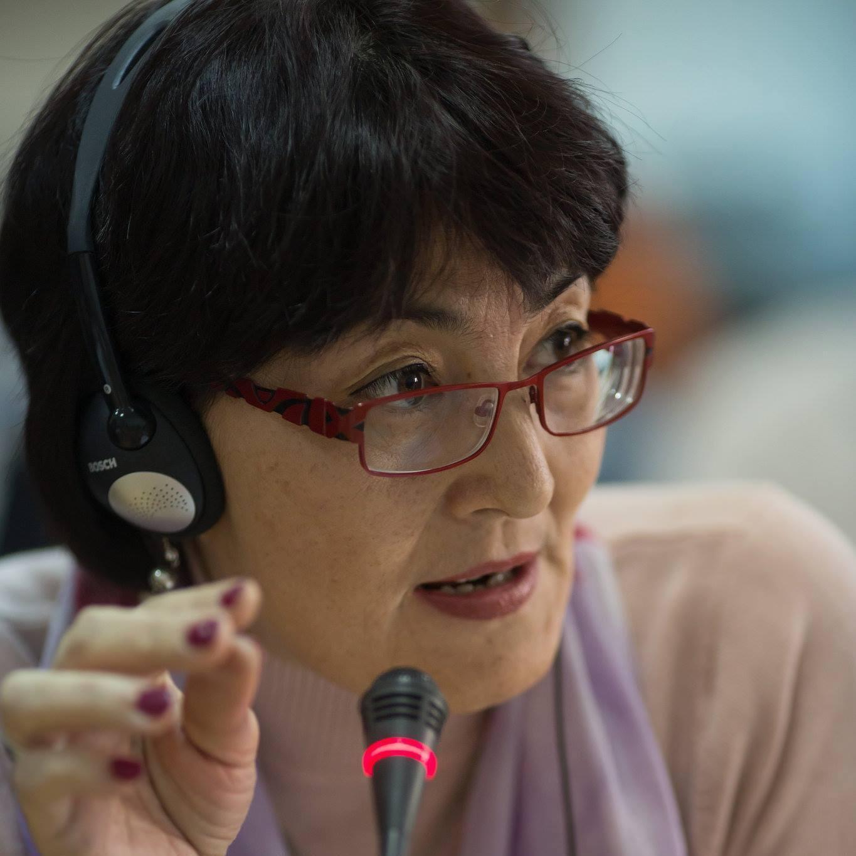 Казахстанская правозащитница Бахтыжан Торегожина