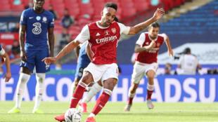 Arsenal striker Pierre-Emerick Aubameyang