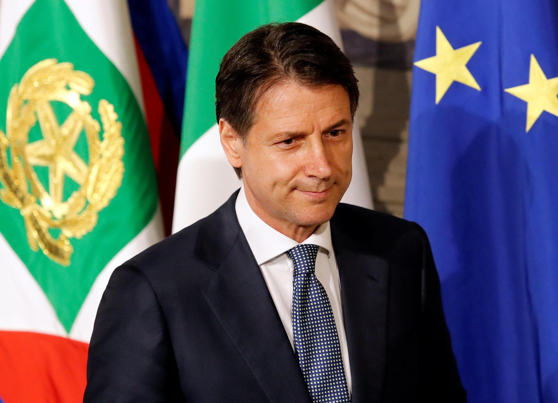 Giuseppe Conte, nomeado chefe de governo italiano
