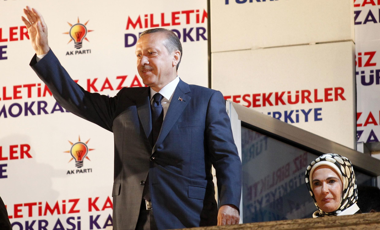 Recep Tayyip Erdogan, primeiro-ministro da Turquia