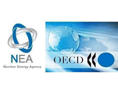 Логотипы Агентства по ядерной энергии и ОЭСР