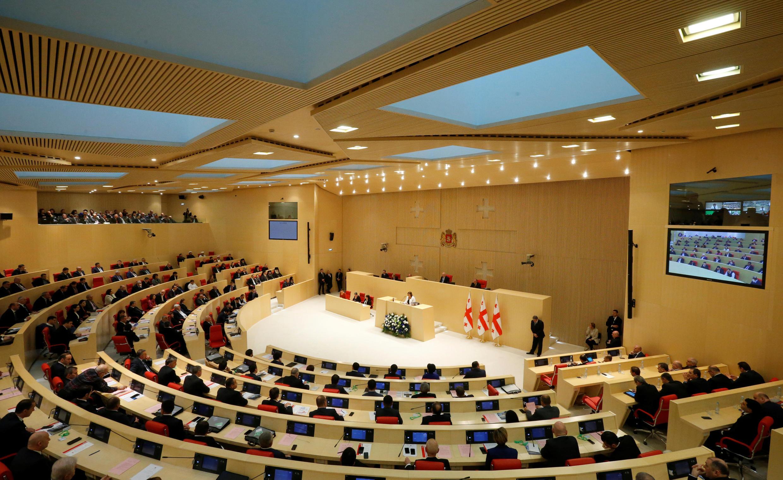 Парламент Грузии, 18 ноября 2016.