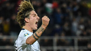 Rising Italy star Nicolo Zaniolo ruptured ligaments in both knees last year