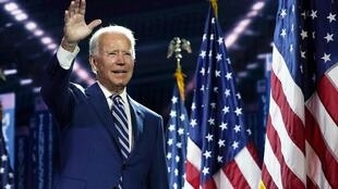 Joe Biden lors de la convention démocrate le 19 août 2020 à Wilmington, Delaware (image d'illustration)