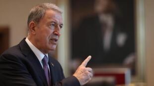Ministan tsaron Turkiya Hulusi Akar