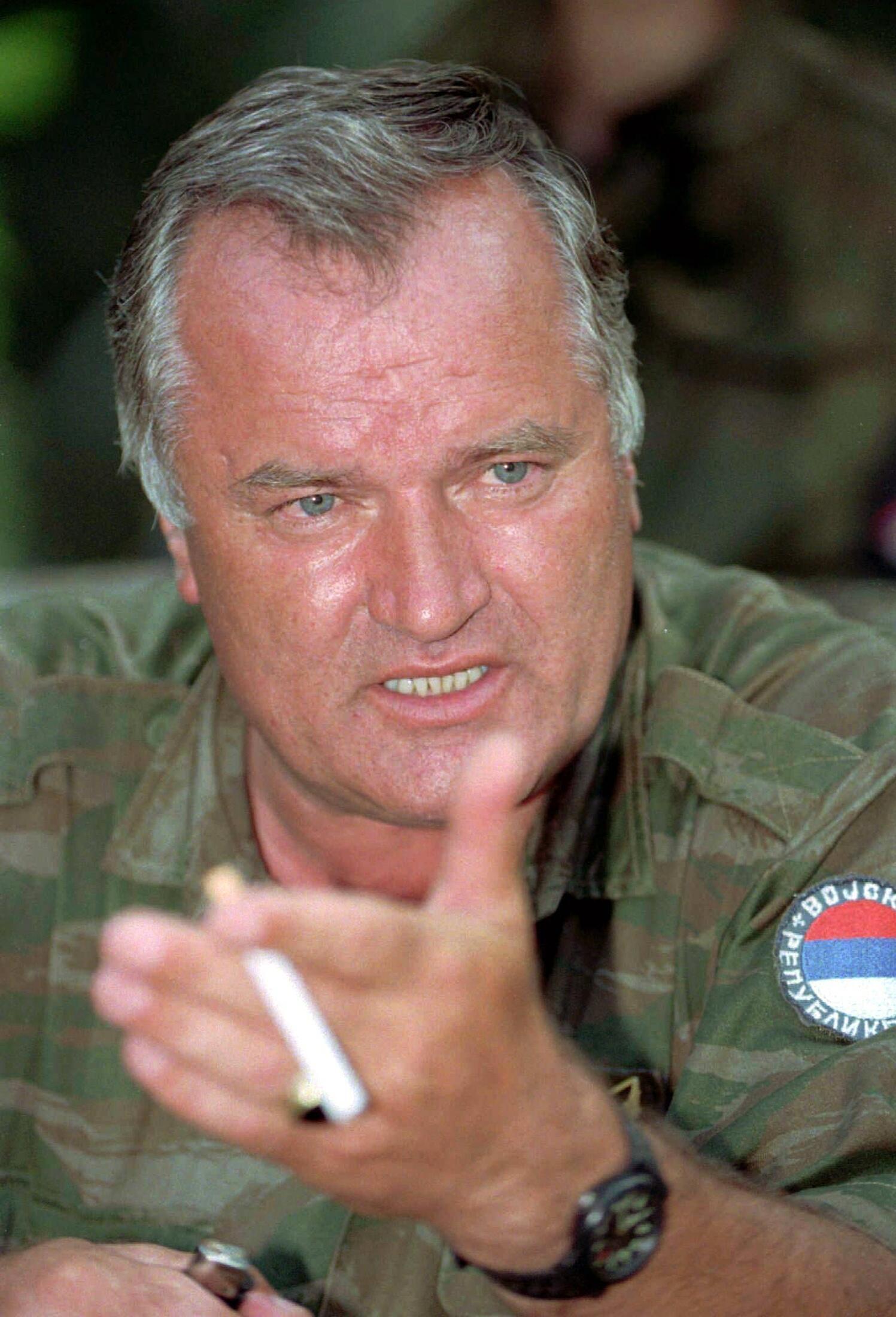 Ratko Mladic in 1995.