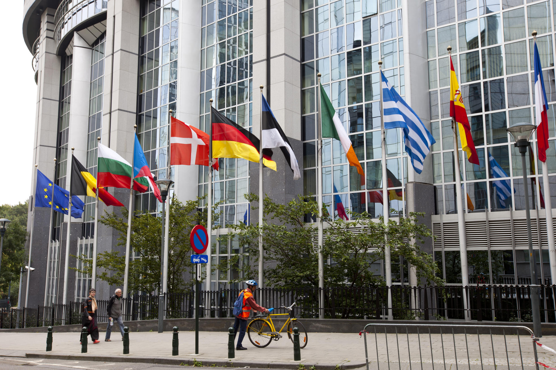 Siège de la Commision européenne à Bruxelles.