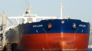 Le pétrolier Achilleas