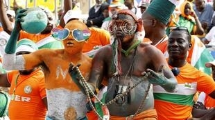 Supporters nigériens.