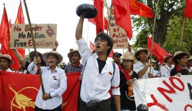 Phong trào sinh viên Miến Điện tại Rangoon