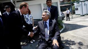 Primer año en el gobierno del presidente de Ecuador, Lenín Moreno.