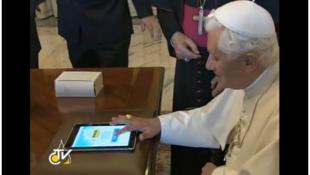 Sur le fil Twitter du Vatican, le pape a inauguré l'adresse http://www.vatican.va.