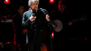 El cantante Bob Dylan, premio Nobel de literatura 2016.