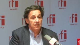 Emmanuel Todd, historien, coauteur de l'ouvrage «Le mystère français» aux éditions du Seuil, mars 2013