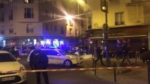 По меньшей мере сразу три пестрелки произошли в пятницу вечером в центре Париже