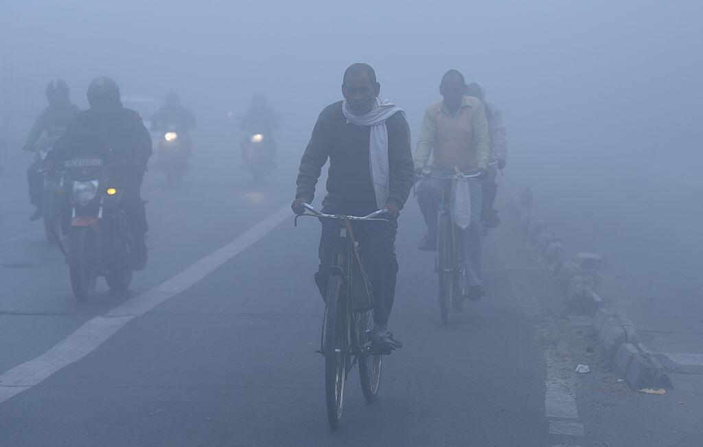 New Delhi, capitale la plus polluée au monde, le 1er décembre 2016. (Photo d'illustration).