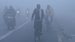 New Delhi, capitale la plus polluée au monde, le 1er décembre 2016. (Photo d'illustration).