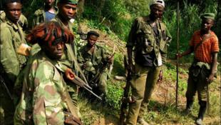 Sehemu ya wapiganaji toka makundi ya waasi yanayofanya shughuli zao mashariki mwa DRC