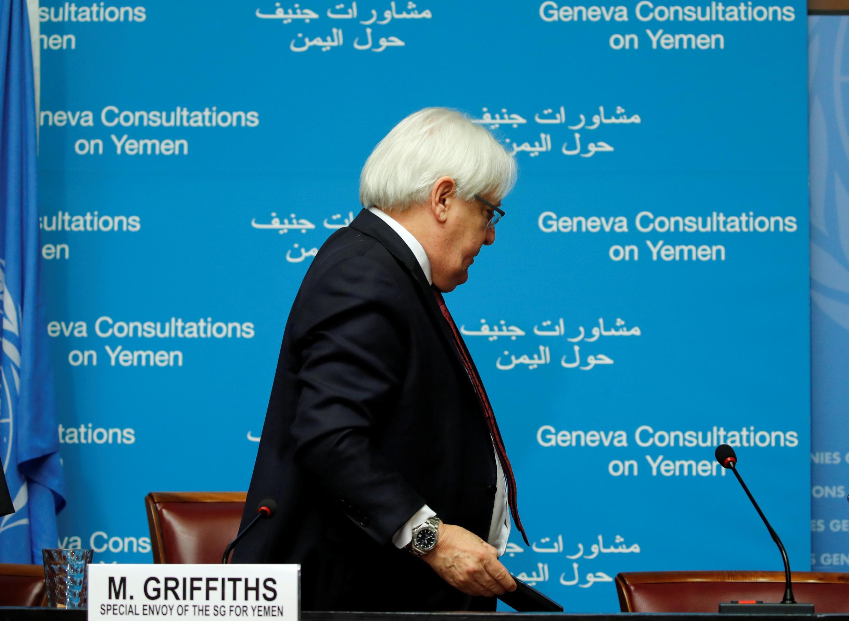 L'envoyé spécial de l'ONU pour le Yémen, Martin Griffiths, a reconnu son échec lors d'une conférence de presse, ce samedi 8 septembre à Genève. Il n'est pas parvenu à faire venir les Houthis à la table des négociations.
