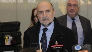 هرمان ناکارتس، معاون امور پادمان های مدیر آژانس بین المللی انرژی اتمی-تصویر آرشیوی