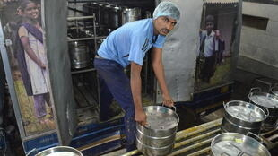 In one of the world's largest kitchen, Bengalore, India