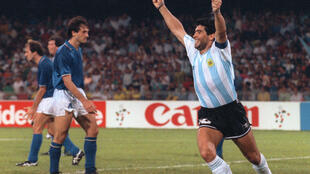 Maradona played in two World Cup finals