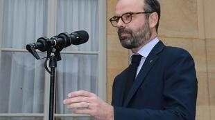 rench Prime Minister Edouard Philippe speaks after a meeting on the preparation of France for Brexit. January 17, 2019