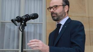 法國總理菲利普2019年1月17日巴黎