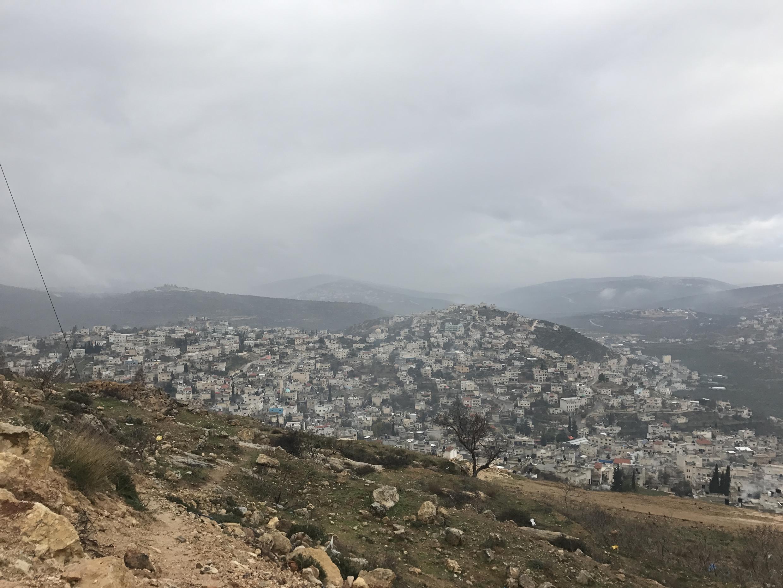 តំបន់ Cisjordanie ដែលគ្របដណ្តប់ដោយសំណង់អាណានិគមកិច្ចអ៊ីស្រាអែល