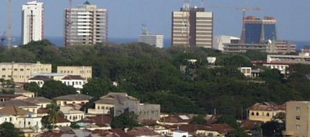 Ghana's capital Accra