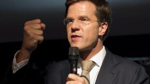 Le Premier ministre Mark Rutte a annoncé l'échec des négociations sur la réduction du déficit public.