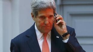 Vendredi, le secrétaire d'Etat américain John Kerry (photo) et le ministre iranien des Affaires étrangères Mohammad Javad Zarif se sont rencontrés à plusieurs reprises.