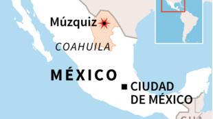 Accidente en mina mexicana